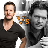Blake Shelton vs Luke Bryan